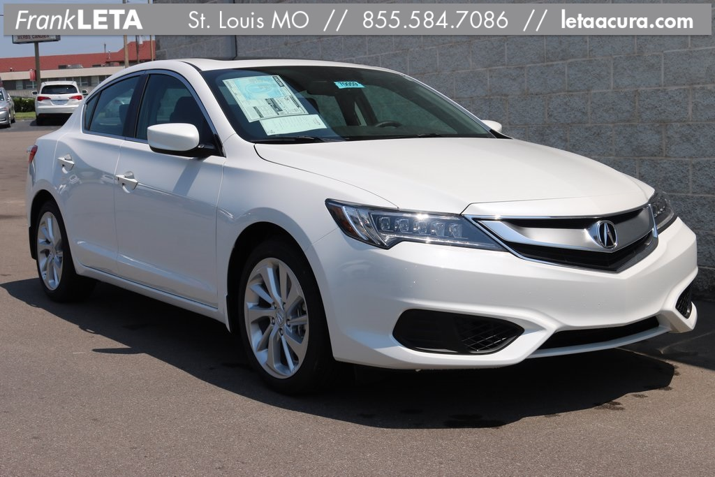 new 2017 acura ilx with premium package 4d sedan in st louis 70059 frank leta acura. Black Bedroom Furniture Sets. Home Design Ideas