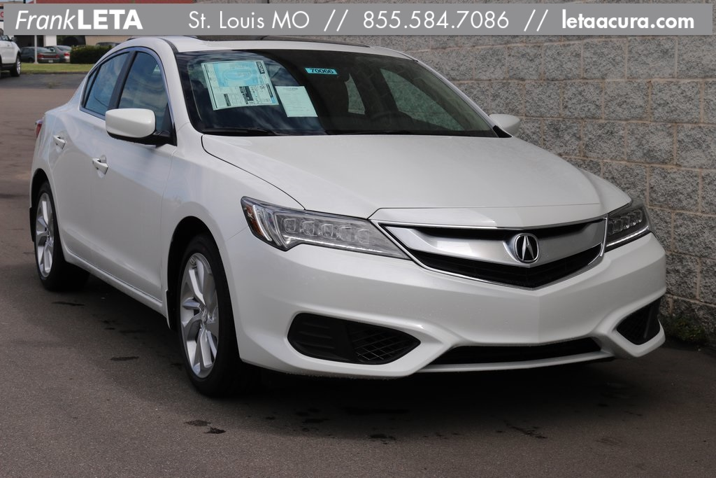 new 2017 acura ilx with premium package 4d sedan in st louis 70066 frank leta acura. Black Bedroom Furniture Sets. Home Design Ideas