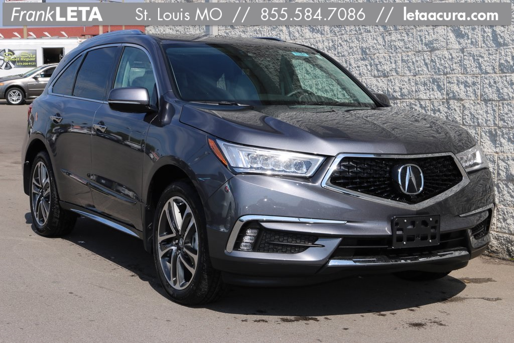 new 2017 acura mdx sh awd with advance package 4d sport utility in st louis 70281 frank leta. Black Bedroom Furniture Sets. Home Design Ideas